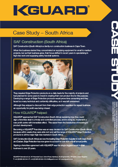 Case Study - Edge Protection Franchise